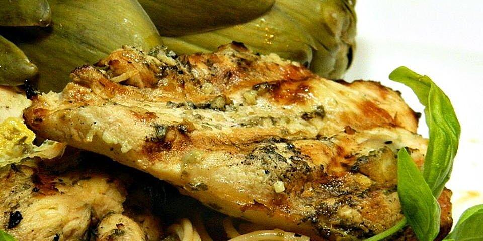 lemon basil grilled chicken recipe