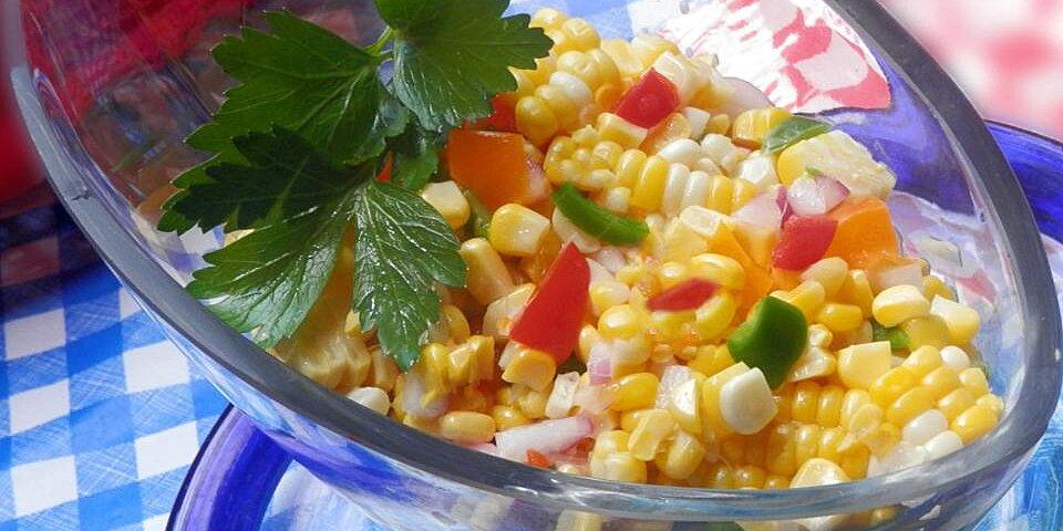 summer anytime crisp corn salad recipe
