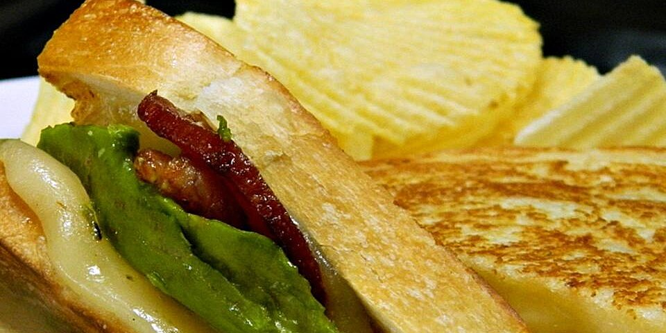 bacon avocado and pepperjack grilled cheese sandwich recipe