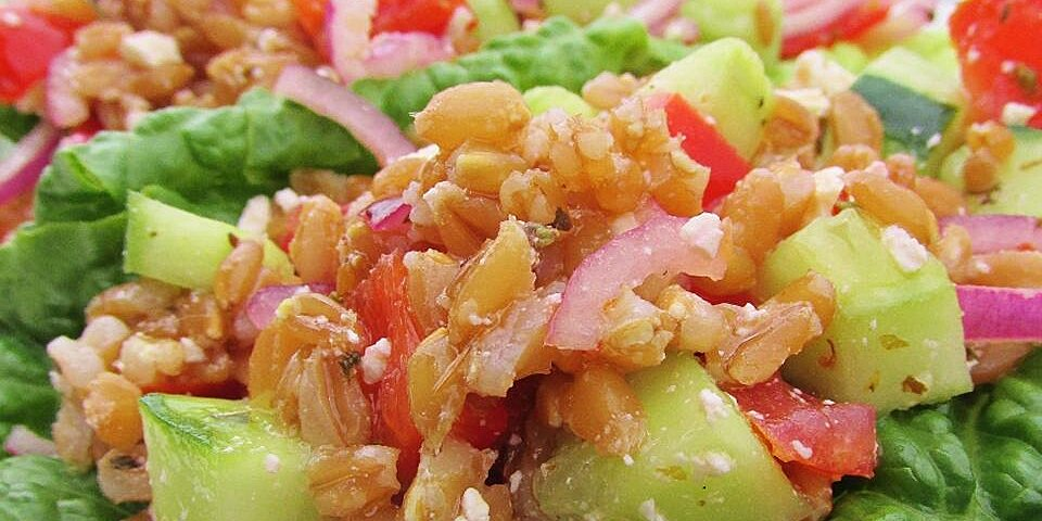 greek farro salad recipe