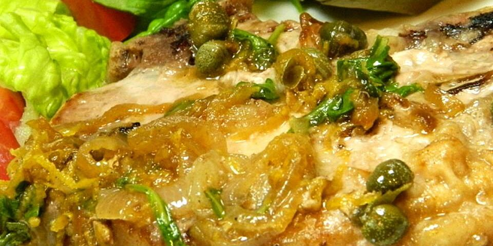 lemony pork piccata recipe