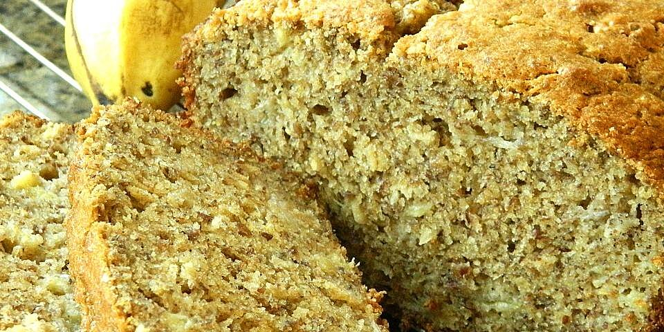 back to whole wheat banana bread with flaxseed and oats recipe