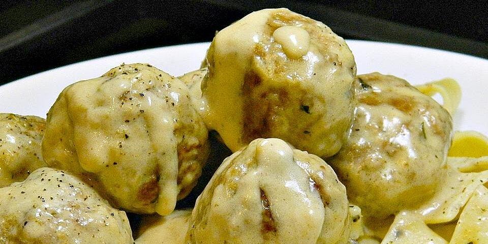 swedish turkey meatballs recipe