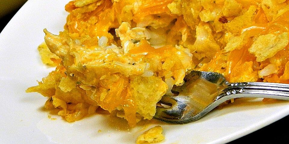 cheesy buffalo chicken casserole recipe