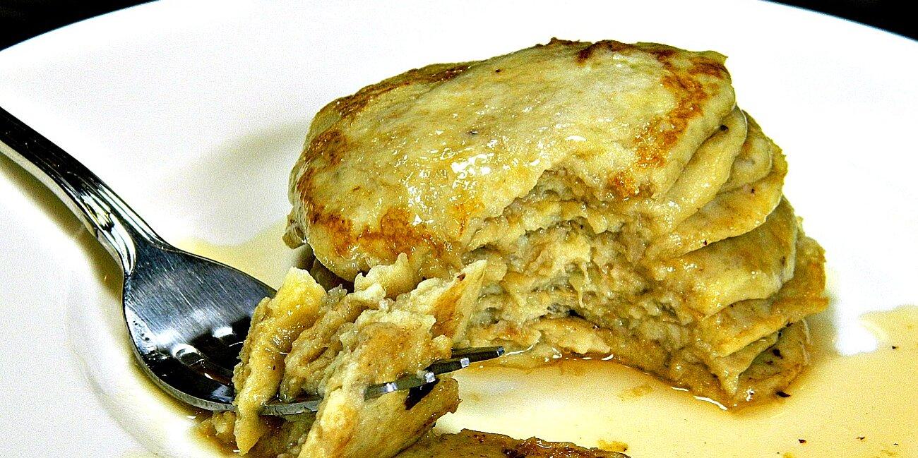 two ingredient banana pancakes recipe