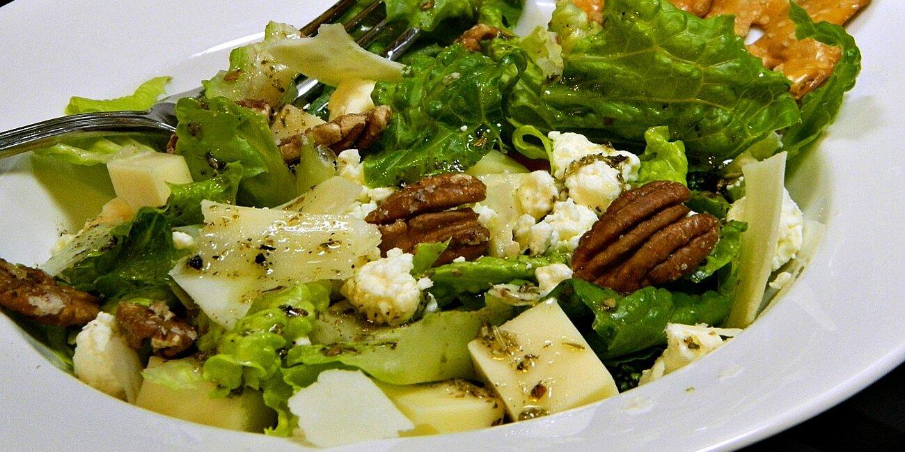 three cheese green salad recipe