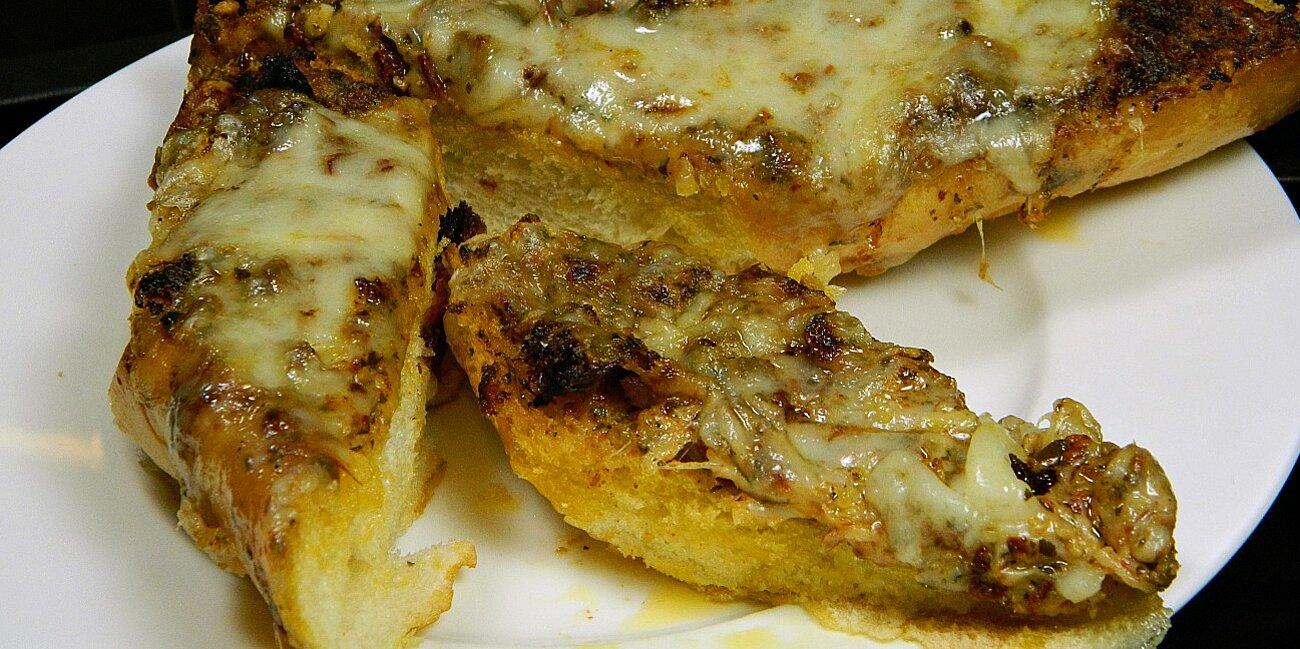 cheesy grilled bread recipe