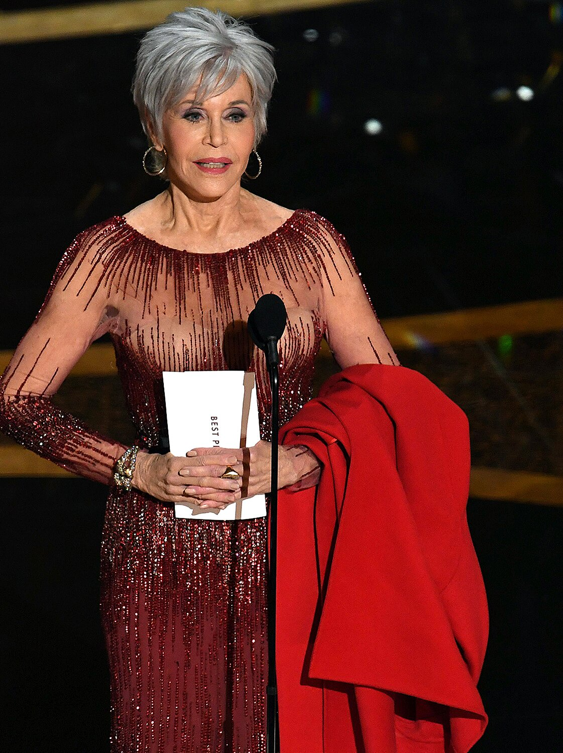Jane Fonda S Hair Colorist Talks About Her Gray Pixie Cut At The 2020 Oscars People Com
