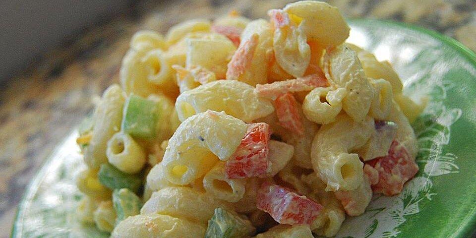 macaroni salad with pickles recipe