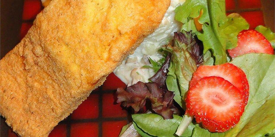 breaded pan fried salmon recipe