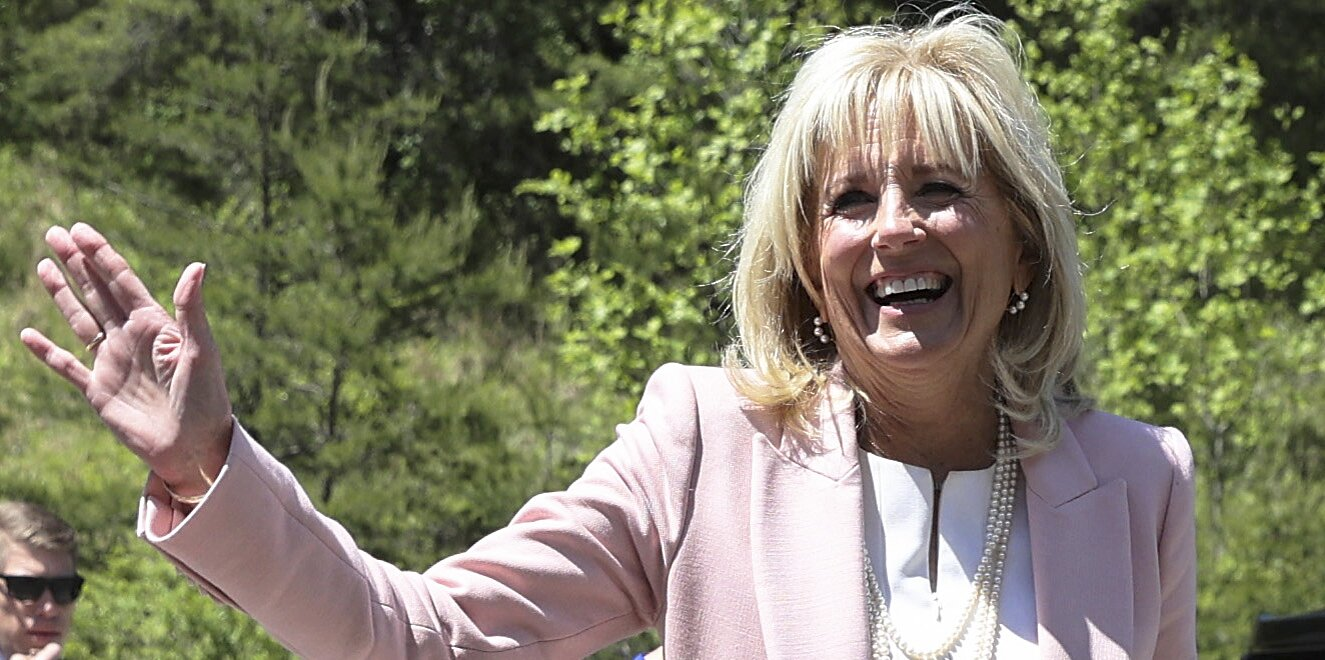 We Can't Get Over Jill Biden's Custom Handbag With Her Dogs' Pictures on It