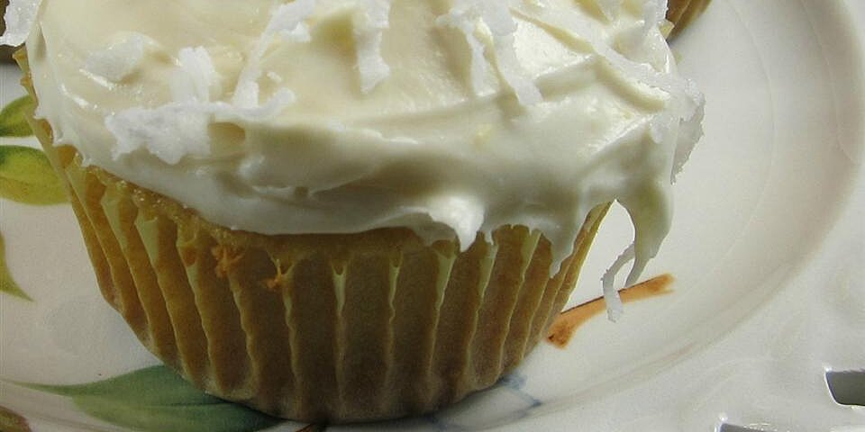 lemon coconut cupcakes recipe