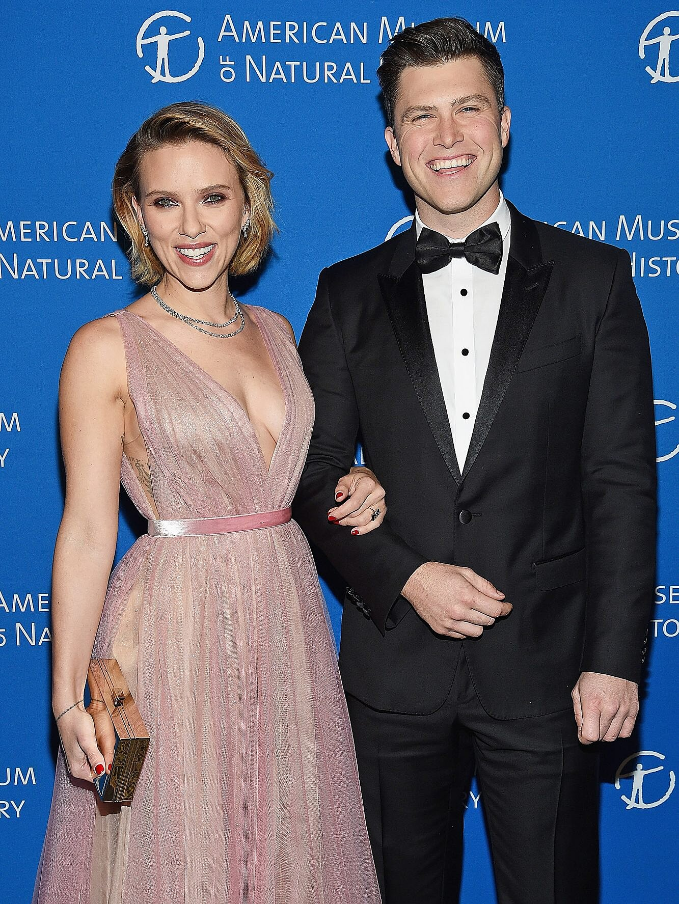 Scarlett Johansson And Colin Are Married People Com