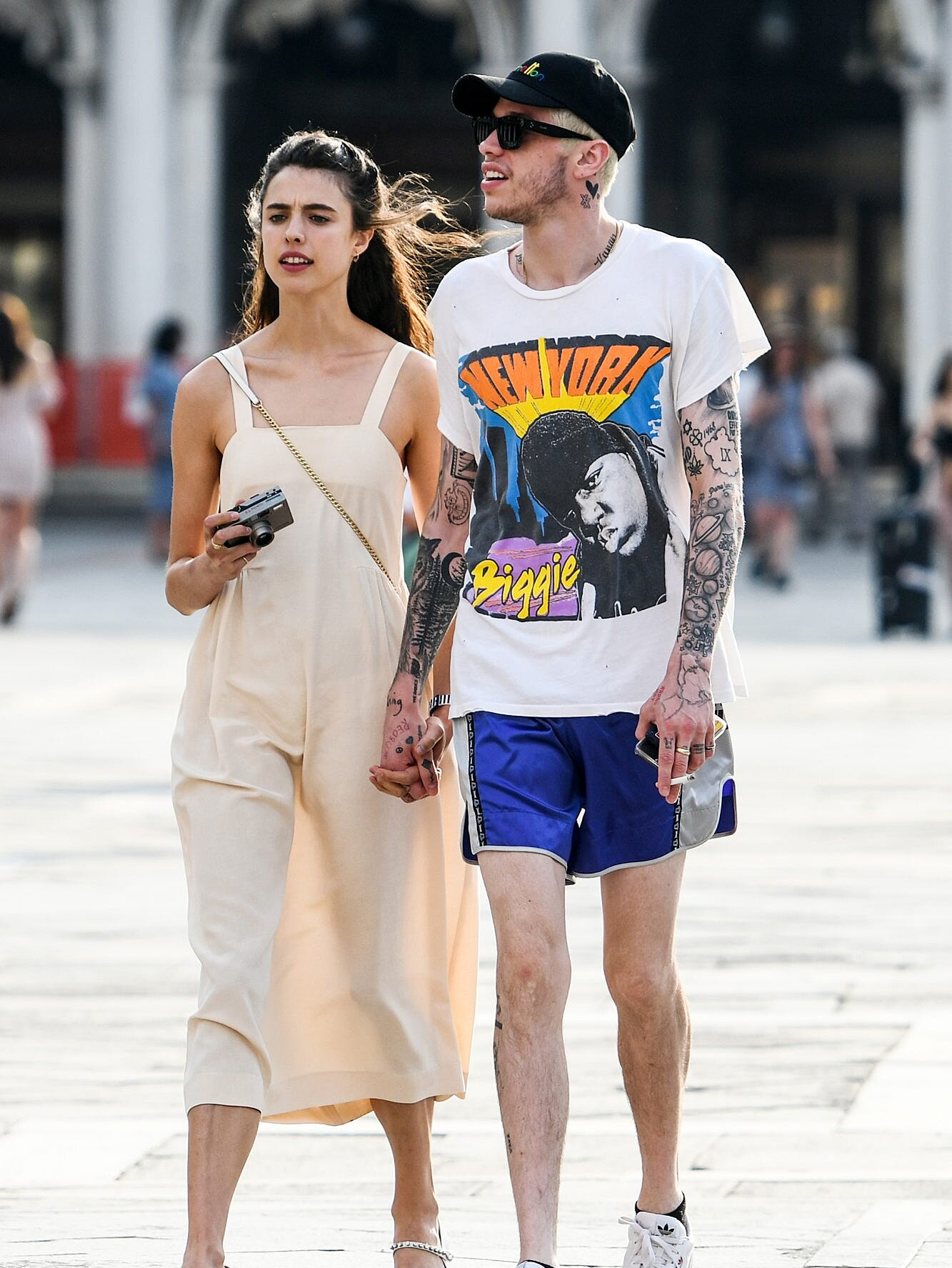 Everything To Know Margaret Qualley And Pete Davidson People Com
