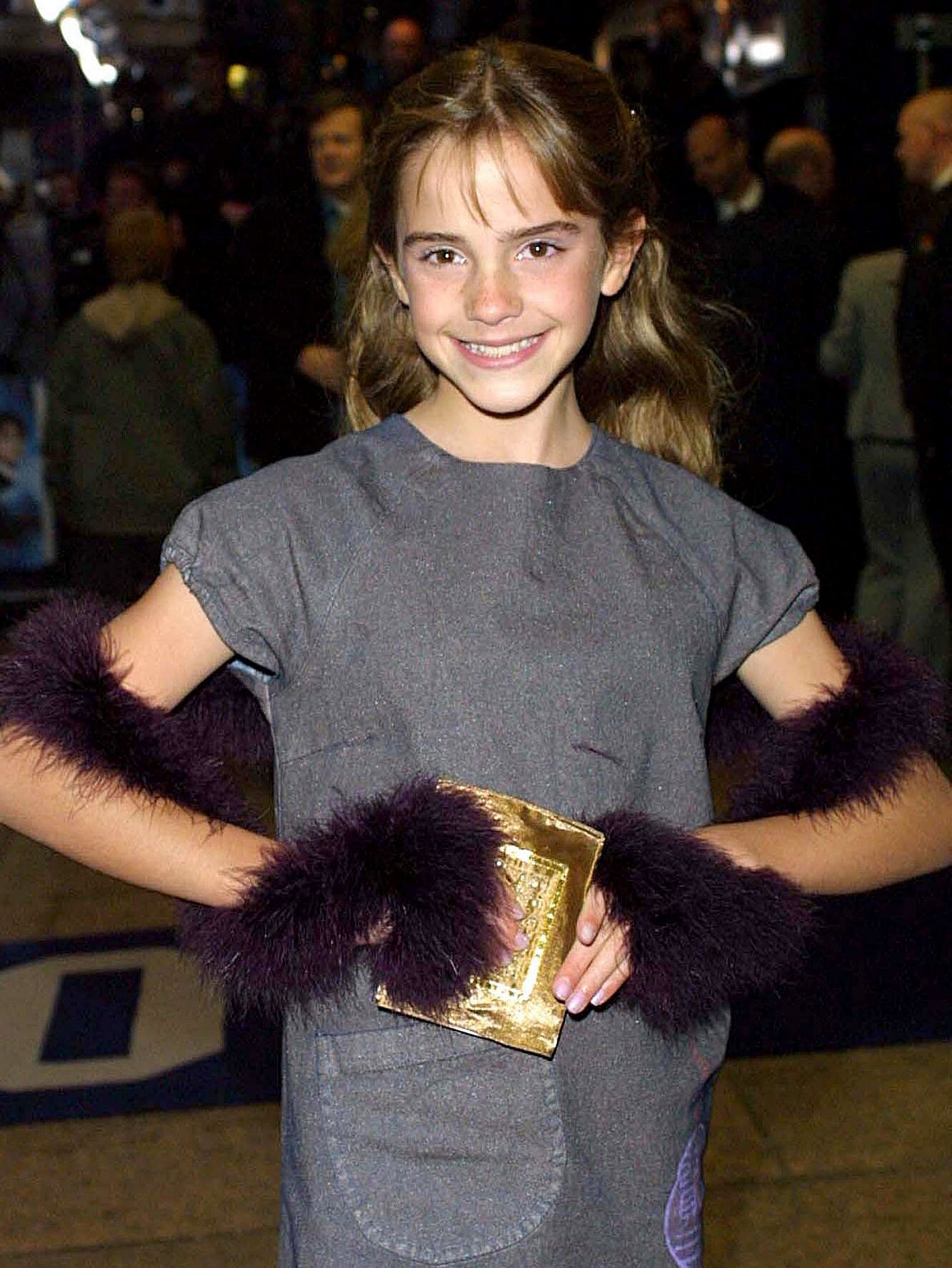 Emma Watson Looks Back At Her First Harry Potter Premiere Ew Com