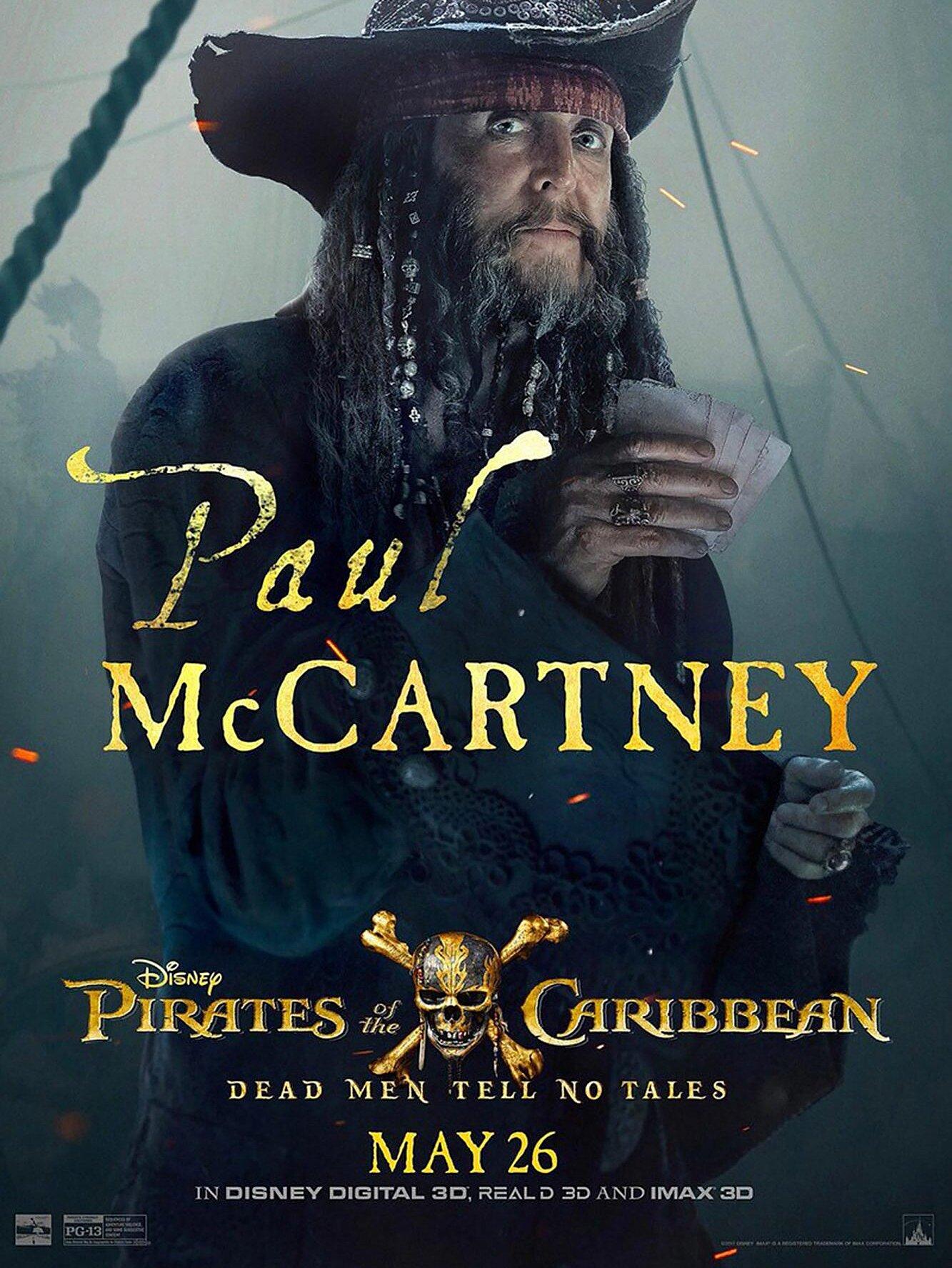 Pirates Of The Caribbean 5 Paul Mccartney Role Explained Ew Com