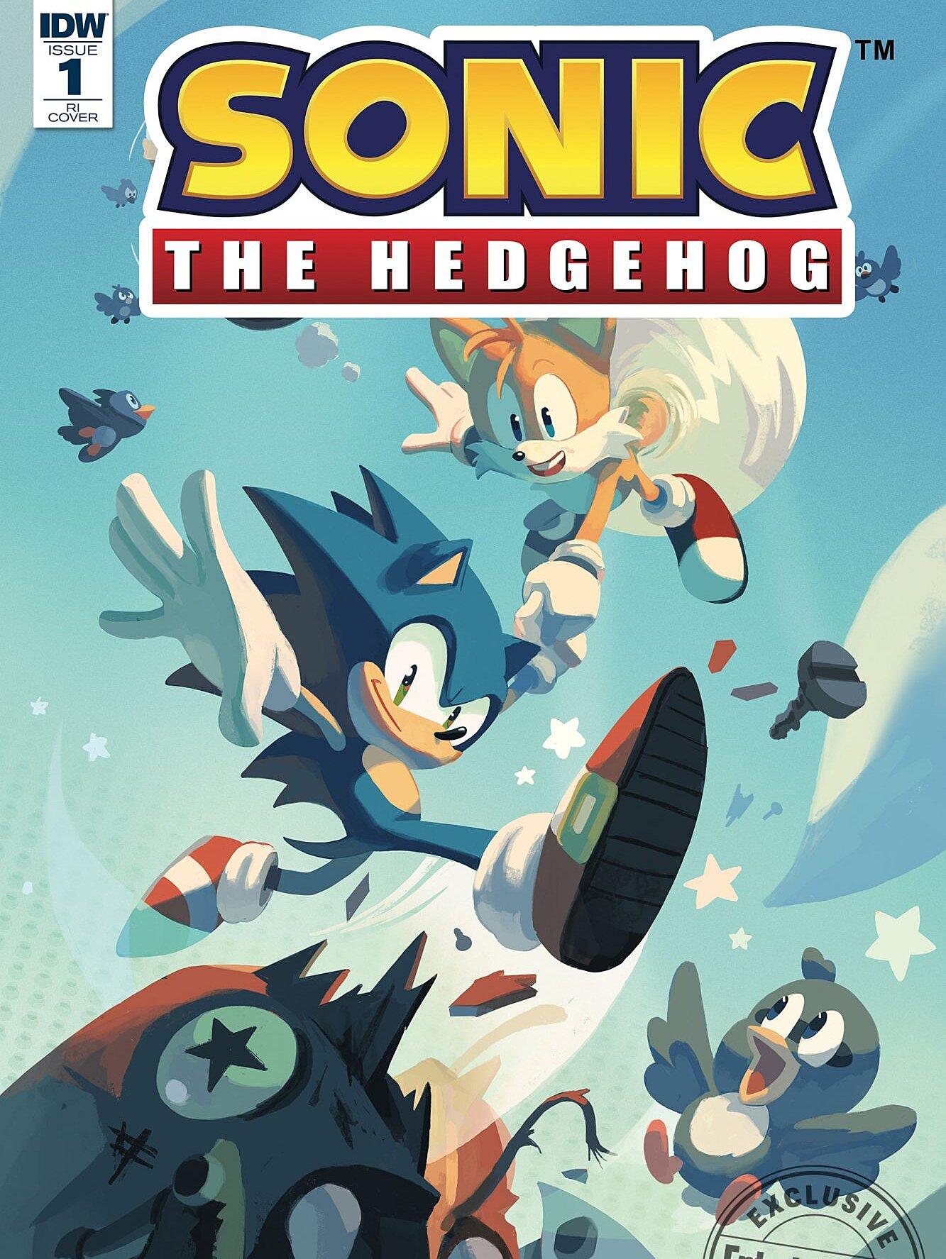 New Sonic The Hedgehog Comics Coming In April Ew Com