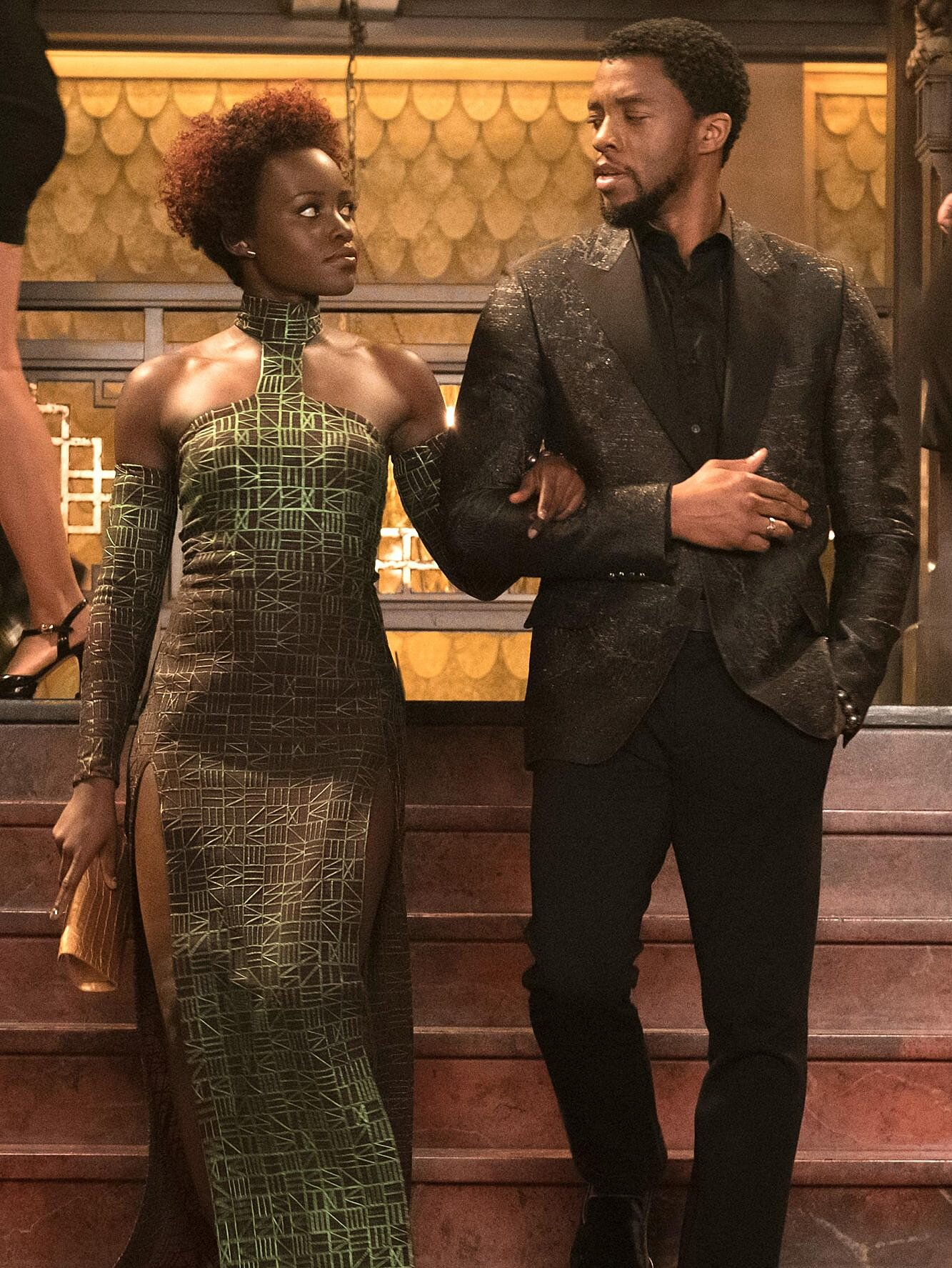 Black Panther style: Why Lupita Nyong'o wears green | EW.com