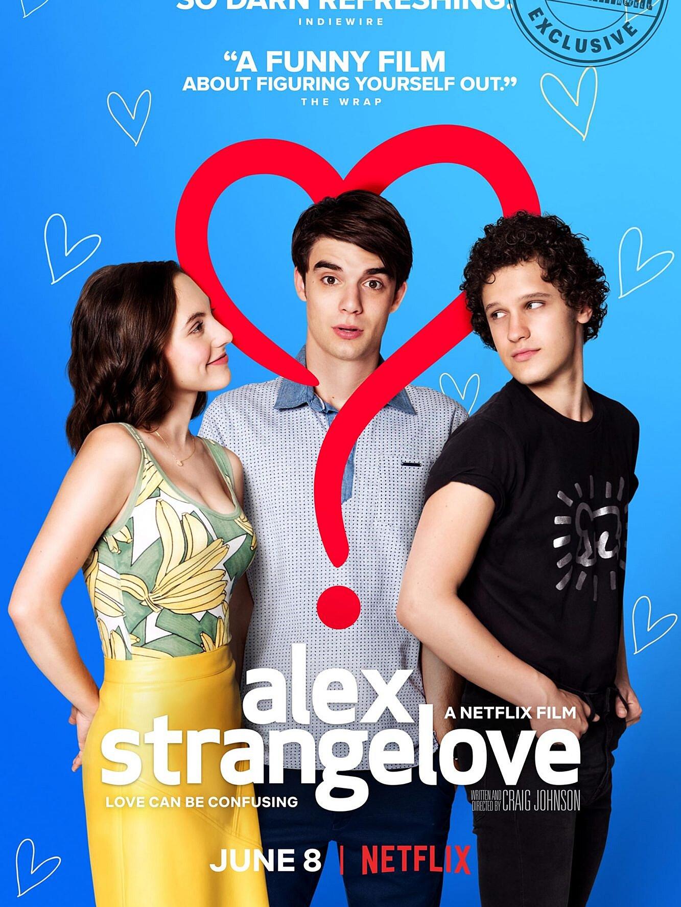 Alex Strangelove Trailer Love Simon Meets Superbad Ew Com