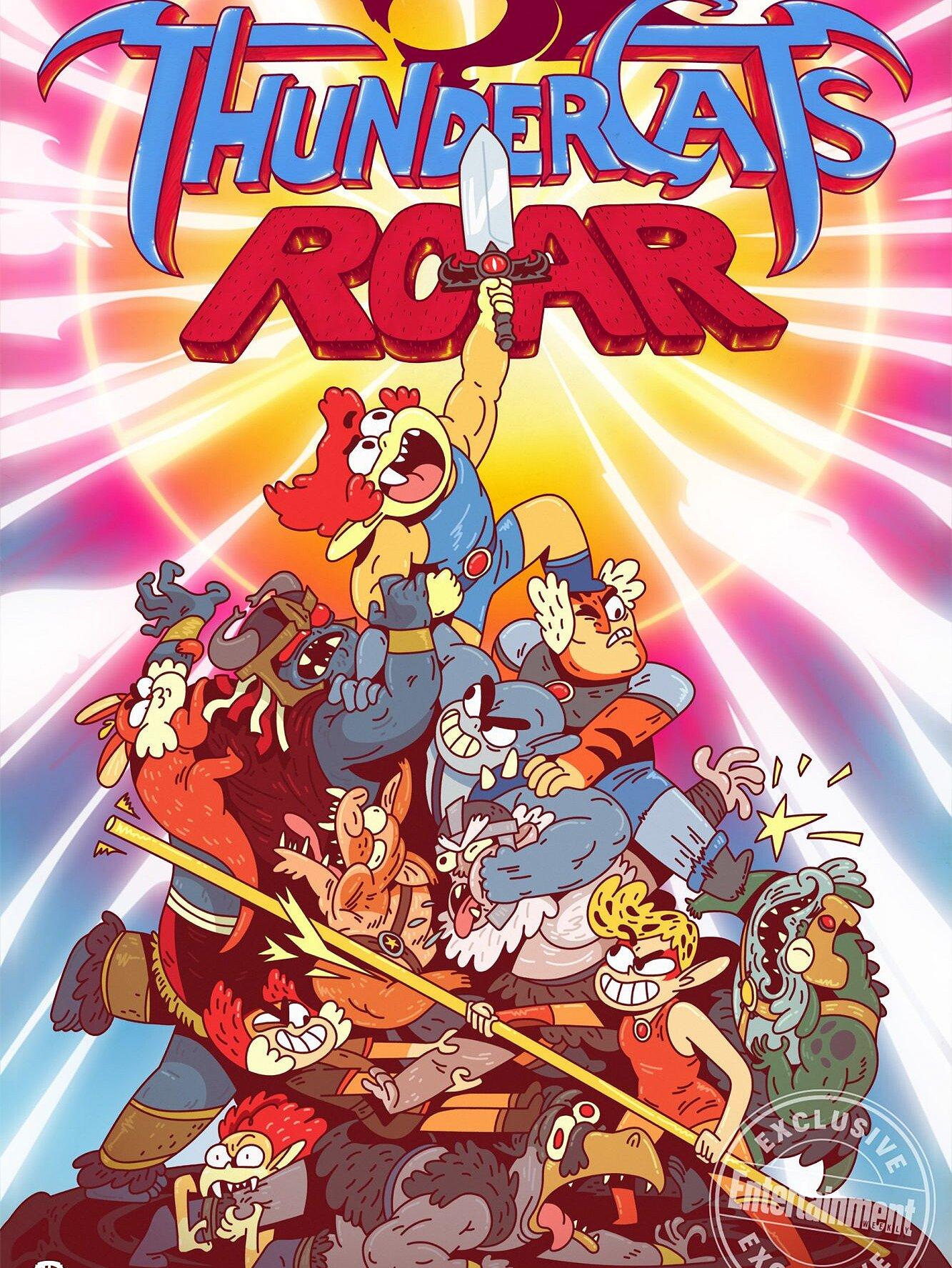 Cartoon Network Brings Back Thundercats For Thundercats Roar Ew Com