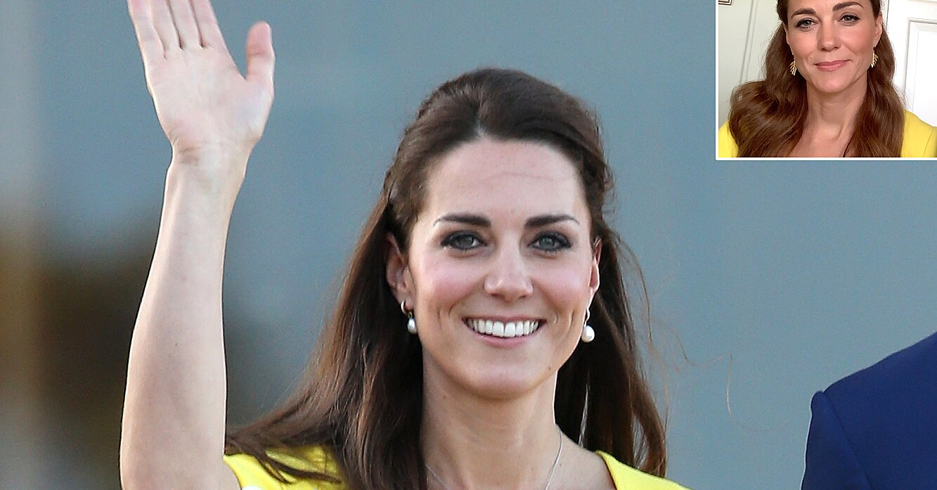 Kate Middleton's Yellow Dress from Her Latest Video Message Had a Special Meaning Behind It