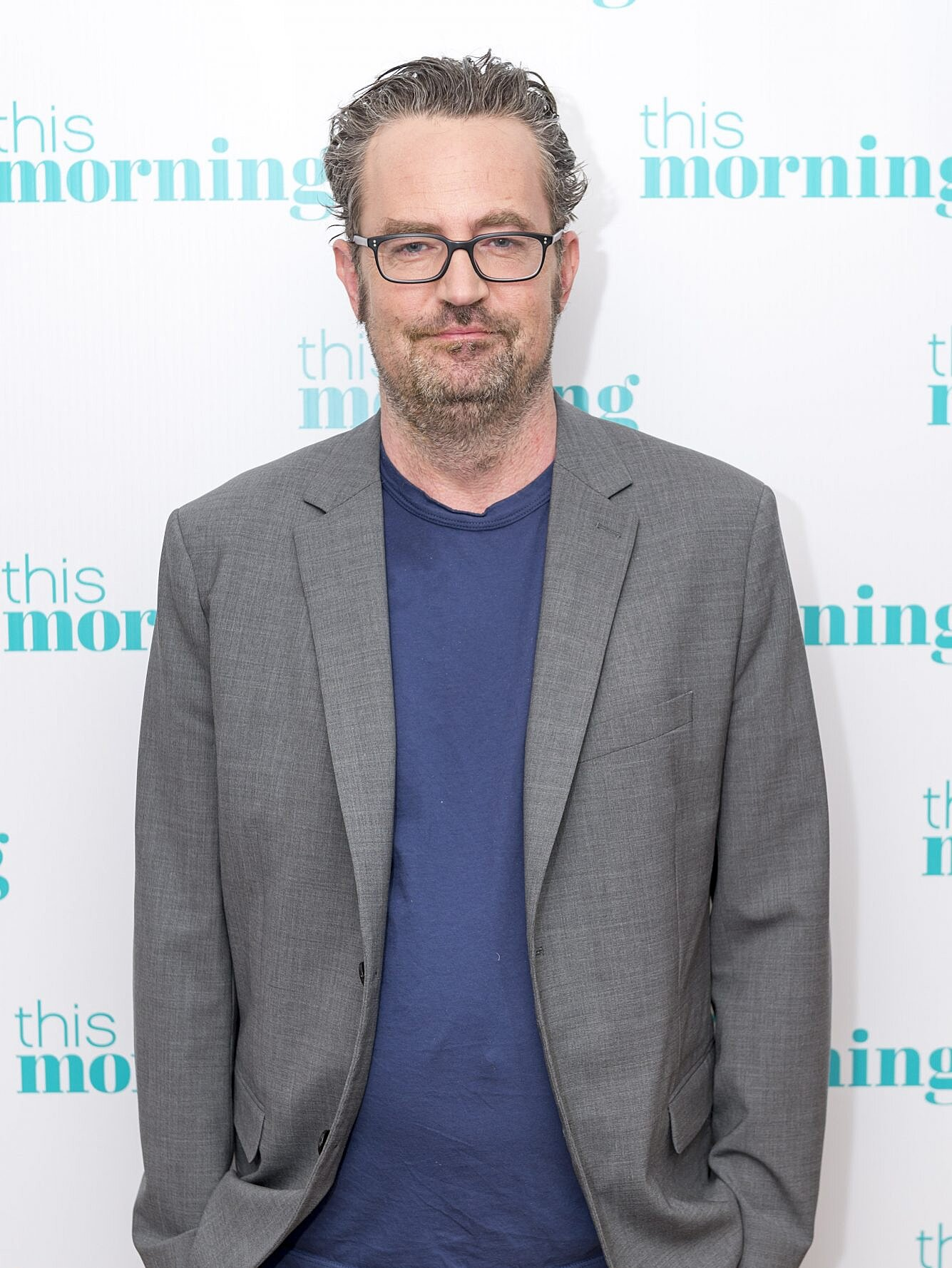 Matthew Perry Claps Back At Disheveled Appearance Report People Com
