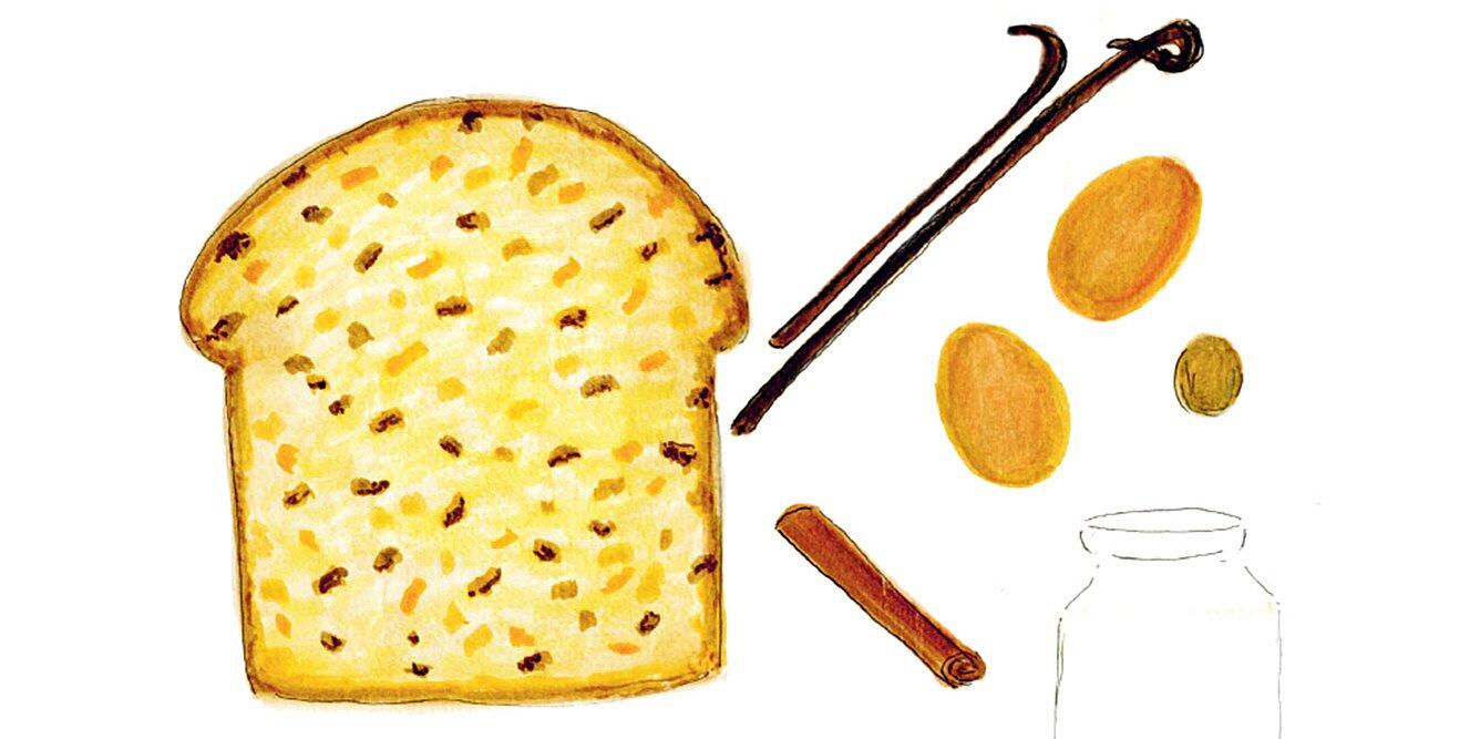 rachael rays panettone french toast
