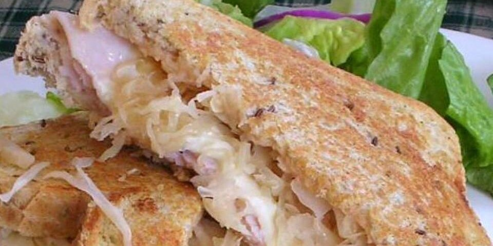 grilled turkey reuben sandwiches recipe