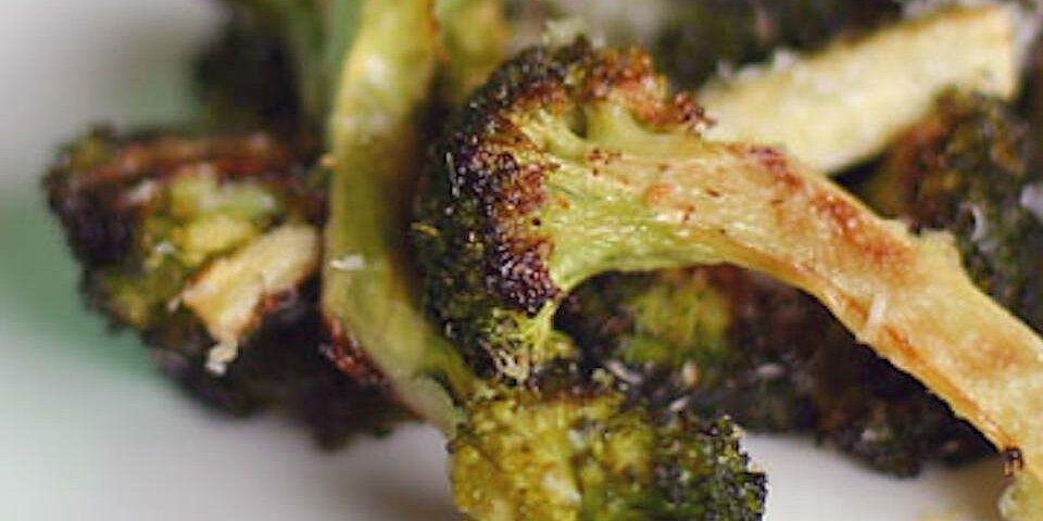 oven roasted broccoli in foil recipe