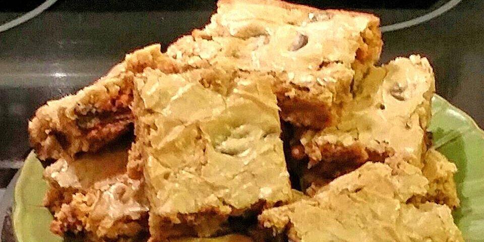 blonde brownies ii recipe