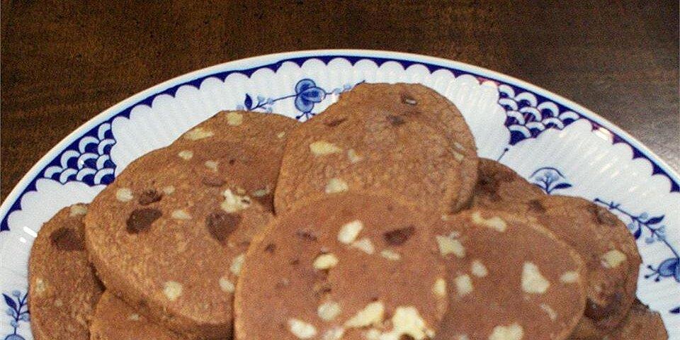 chocolate refrigerator cookies recipe