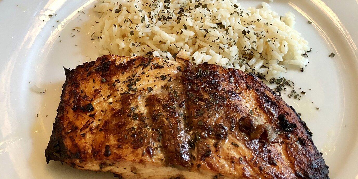 mediterranean salmon recipe