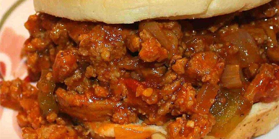 turkey sloppy joes recipe