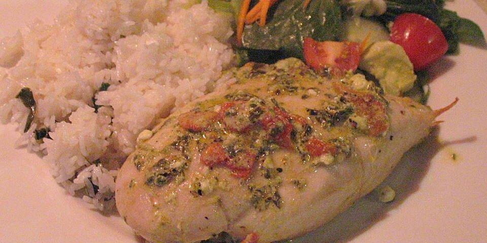 mediterranean stuffed chicken recipe