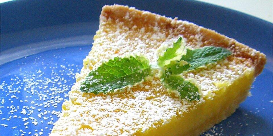 tart lemon triangles recipe