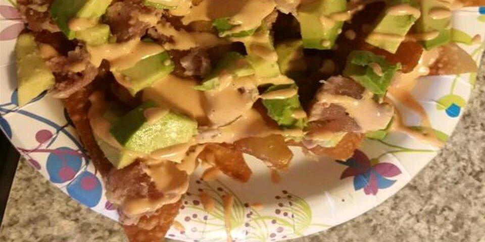 ahi nachos recipe