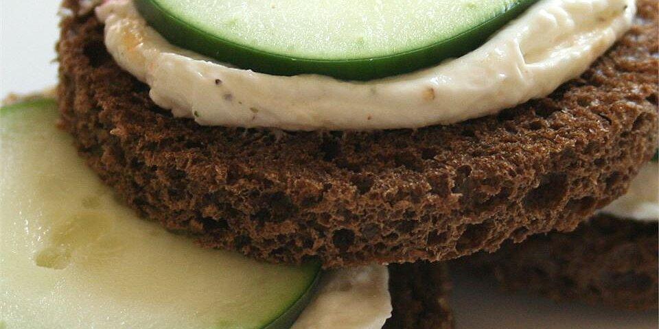 cucumber sandwich appetizers recipe