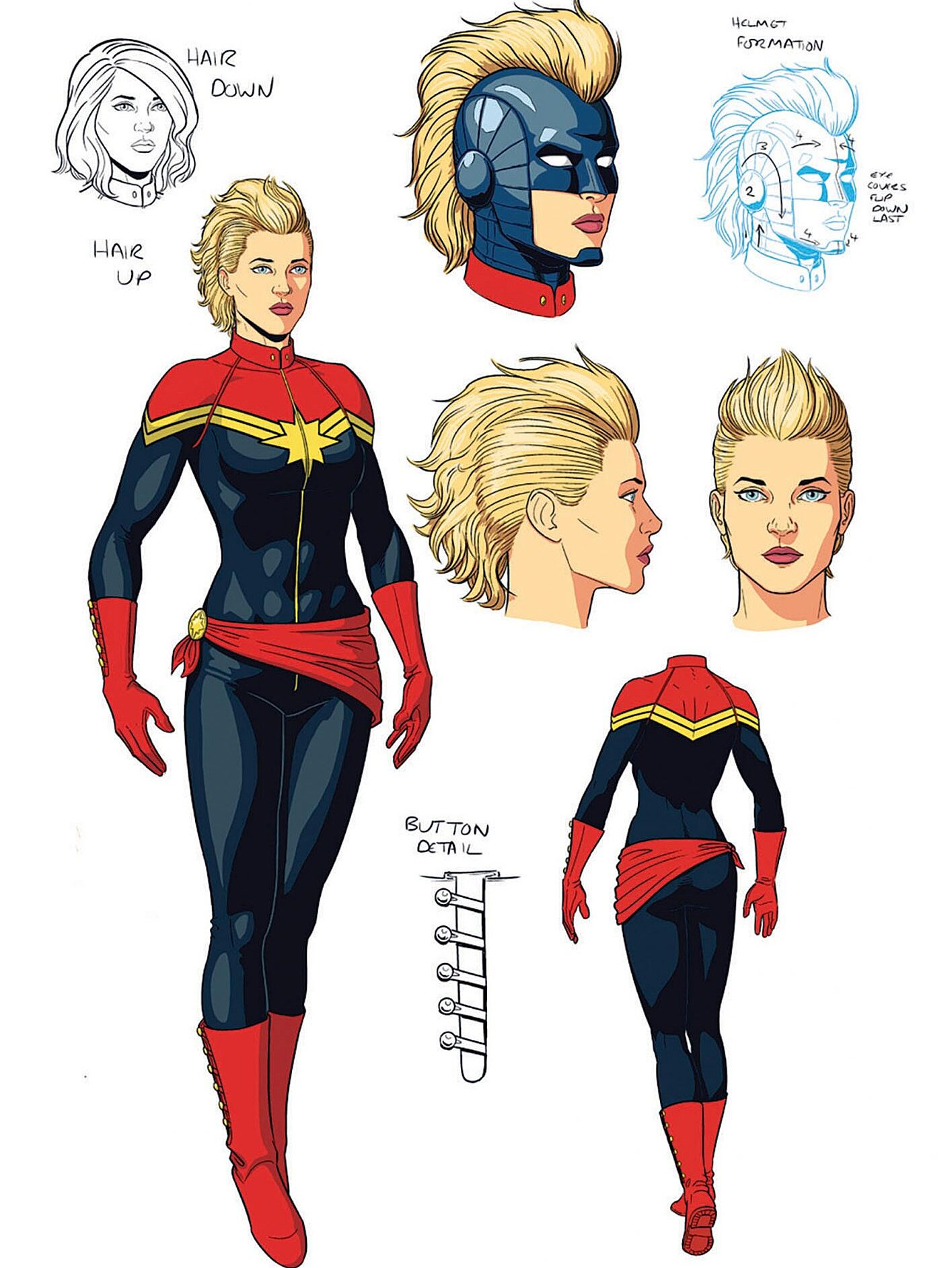 Captain Marvel Kelly Sue Deconnick Helped The Superhero Realize Her Full Potential Ew Com The color scheme is so similar. captain marvel kelly sue deconnick