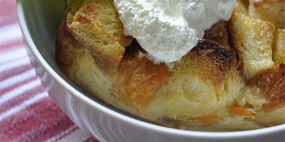 my peach bread pudding recipe