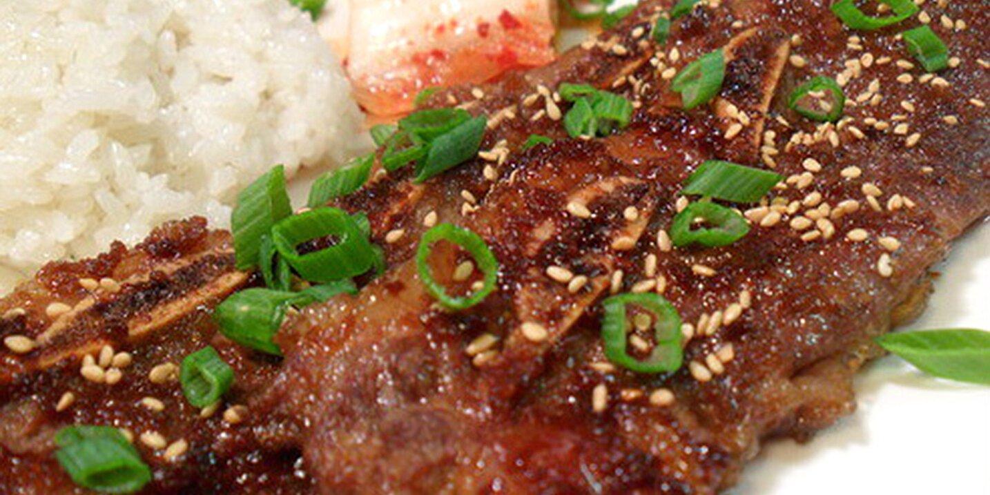 kalbi korean marinated short ribs recipe