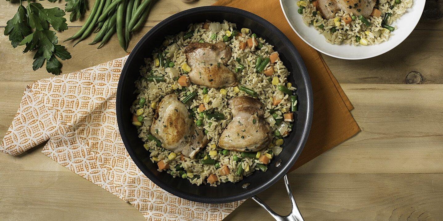chicken herb spring medley recipe