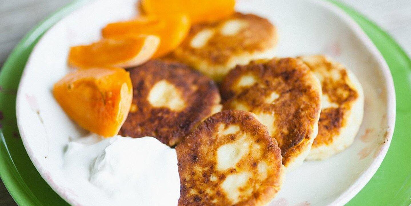 russian cheese pancakes syrniki recipe