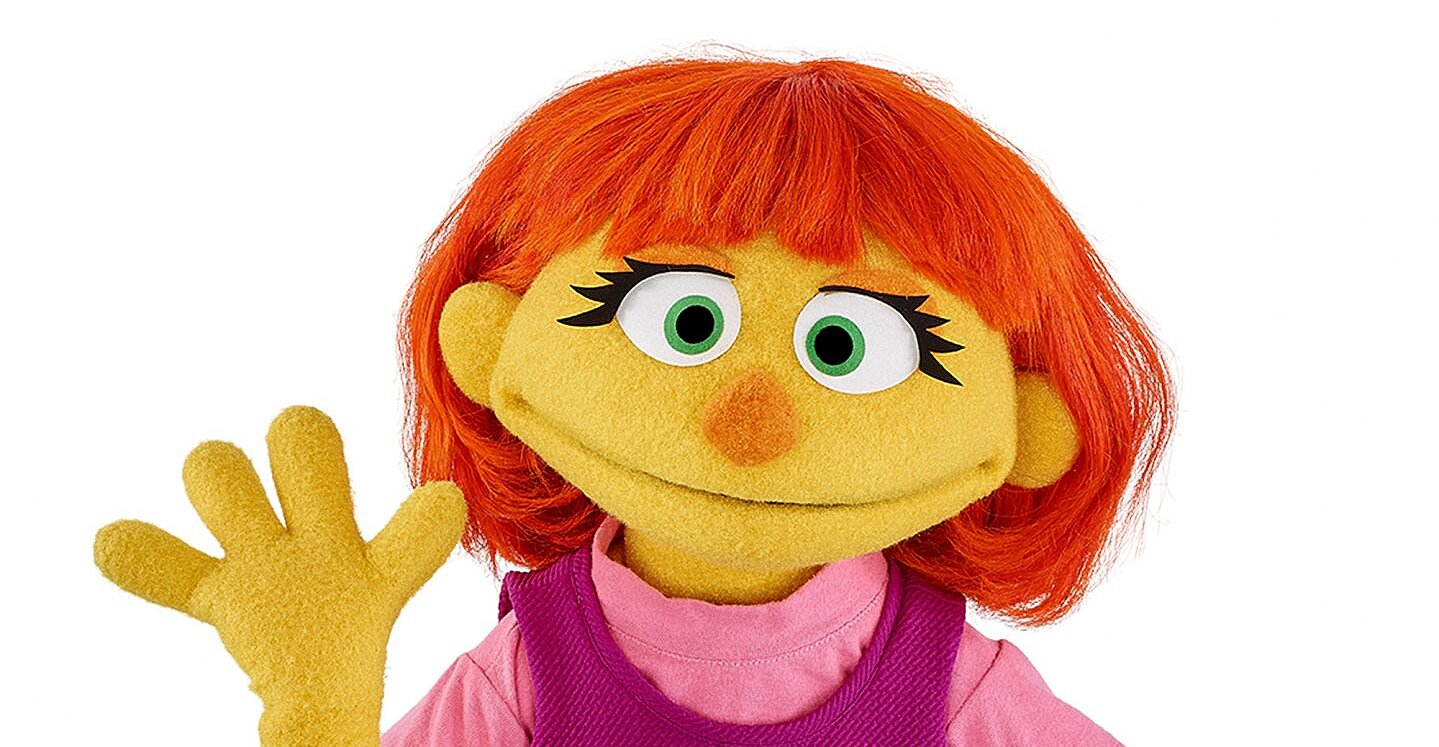 Sesame Street Debuts Julia, a Muppet with Autism