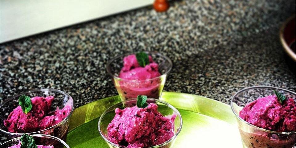 adult cherry vanilla frozen yogurt recipe
