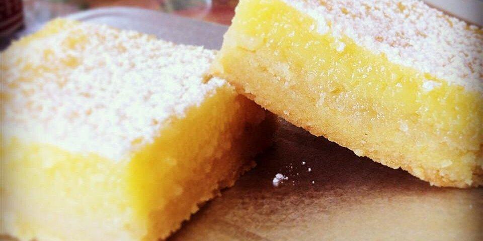 lemon square bars recipe