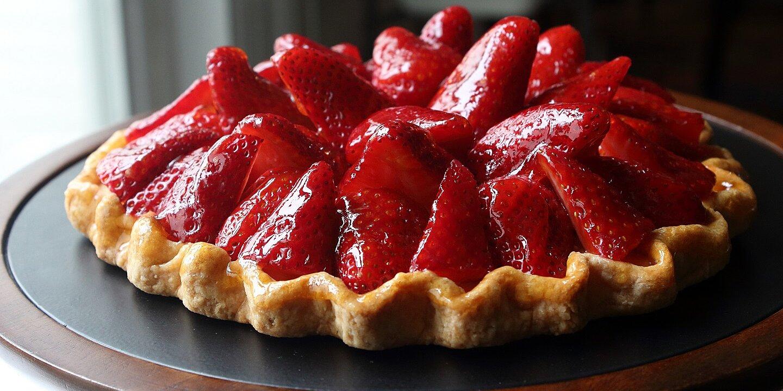 fresh strawberry tart recipe