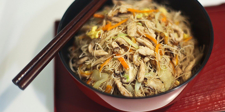 tsao mi fun taiwanese fried rice noodles recipe