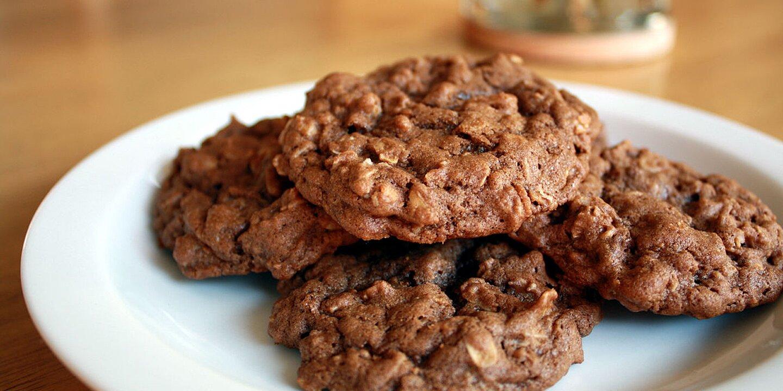 chocolate oatmeal cookies recipe
