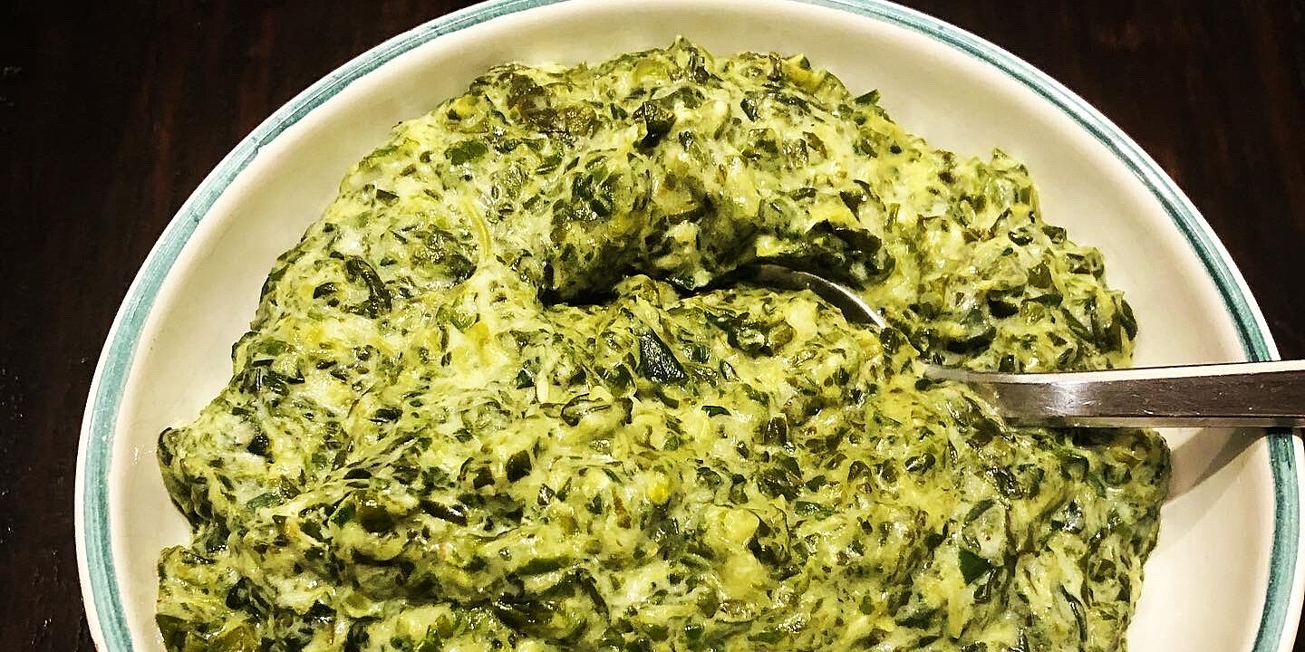 creamed spinach from oikos recipe