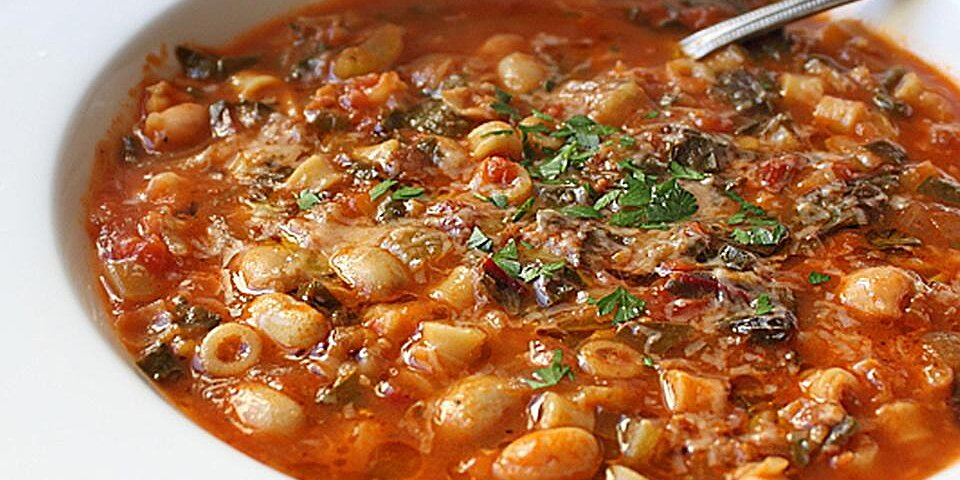 chef johns minestrone soup